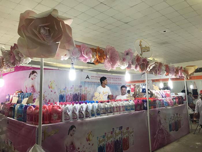 Hoạt động triển lãm hàng Thái tại thành phố Hồ Chí Minh